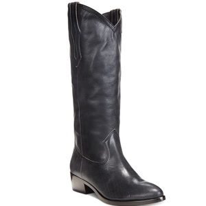 """FRYE Black Riding Boot - """"Ray Western Pull On"""""""